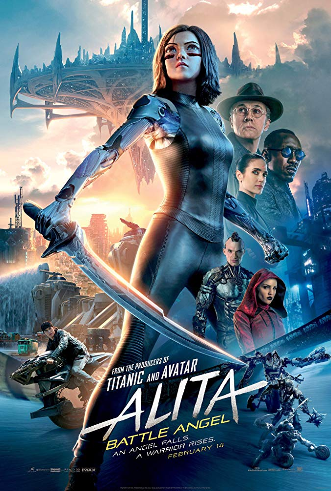 Alita : Battle Angel / Алита : Боен ангел (2019)