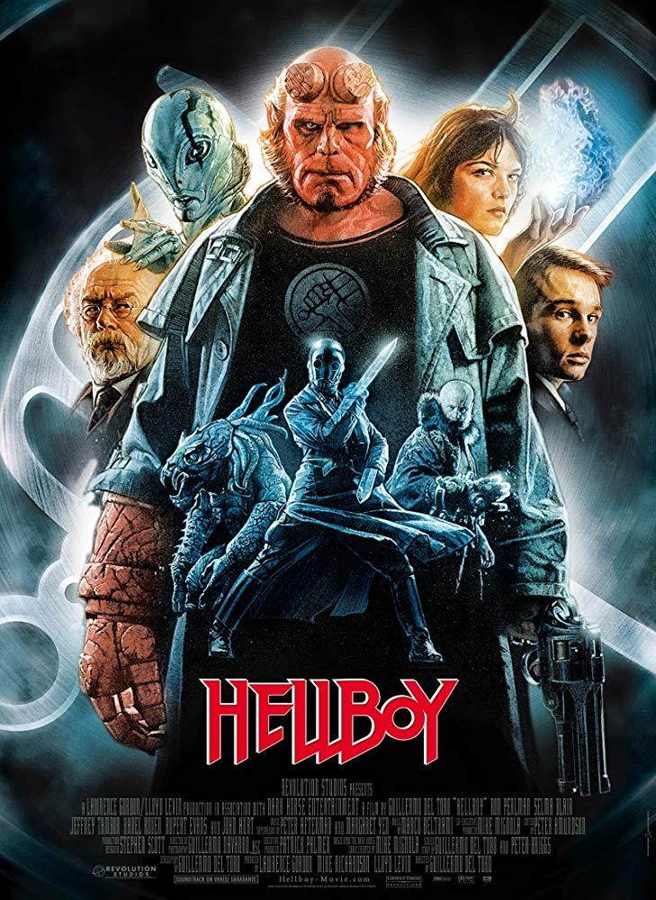 Hellboy / Хелбой (2004)