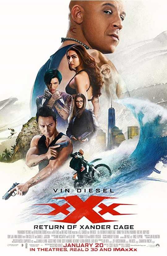 xXx III : Return of Xander Cage / Трите хикса 3 : Световно господство (2017)