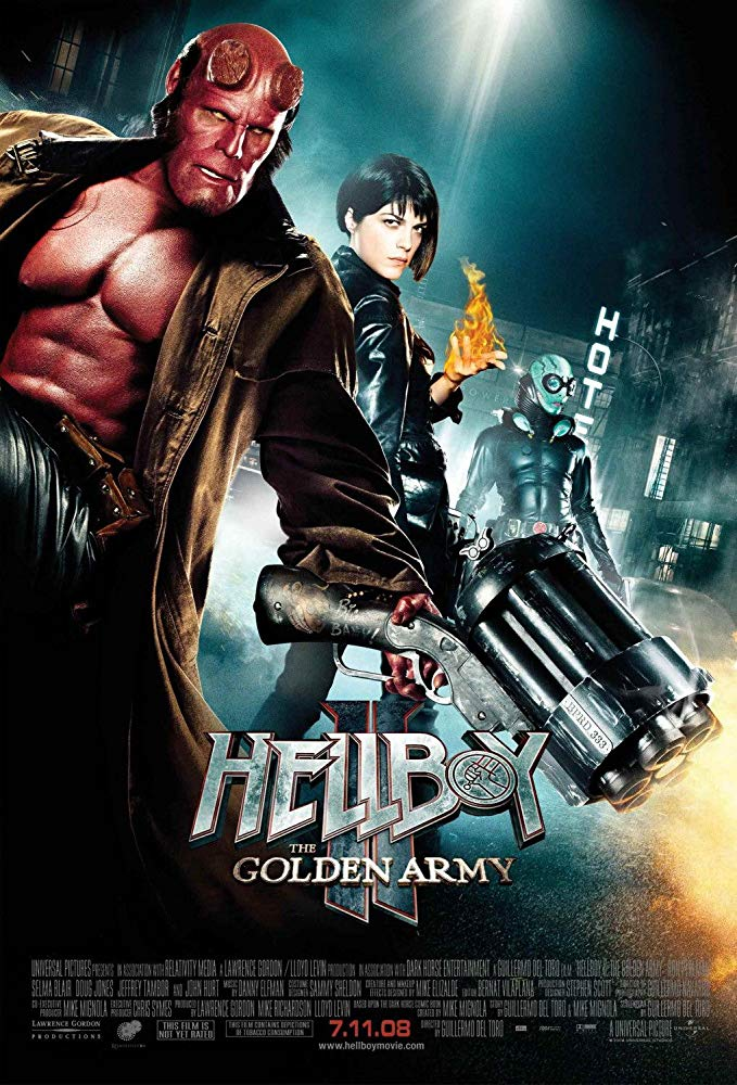 Hellboy II : The Golden Army / Хелбой 2 : Златната армия (2008)