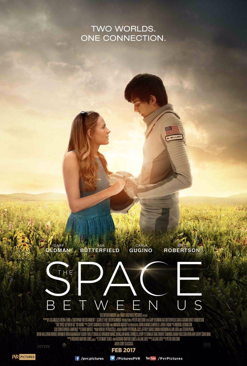 The Space Between Us / Космосът между нас (2017)